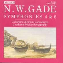 Niels W. Gade (1817-1890): Symphonien Nr.4 & 6, CD