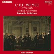 Christoph Ernst Friedrich Weyse (1774-1842): Klavierwerke, CD