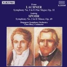 Franz Lachner (1803-1890): Symphonie Nr.1 op.32, CD