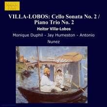 Heitor Villa-Lobos (1887-1959): Klaviertrio Nr.2, CD