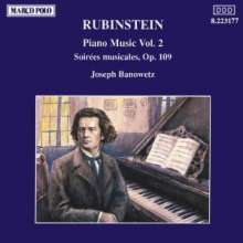 Anton Rubinstein (1829-1894): Klavierwerke Vol.2, CD