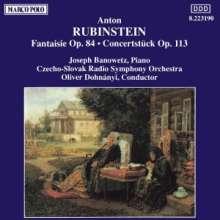 Anton Rubinstein (1829-1894): Konzertstück f.Klavier & Orch.op.113, CD