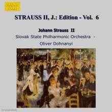 Johann Strauss II (1825-1899): Johann Strauss Edition Vol.6, CD