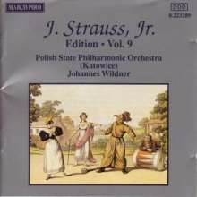Johann Strauss II (1825-1899): Johann Strauss Edition Vol.9, CD