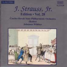 Johann Strauss II (1825-1899): Johann Strauss Edition Vol.28, CD