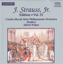 Johann Strauss II (1825-1899): Johann Strauss Edition Vol.31, CD