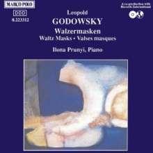 Leopold Godowsky (1870-1938): 24 Walzermasken, CD