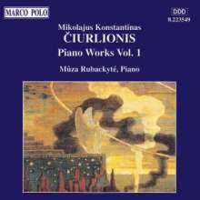 Mikalojus Konstantinas Ciurlionis (1875-1911): Klavierwerke Vol.1, CD