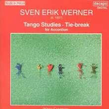 Sven Erik Werner (geb. 1937): 12 Tango Studies f.Akkordeon, CD