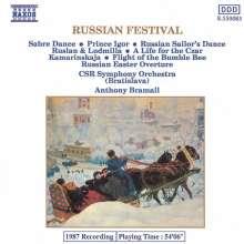 Russische Orchesterwerke, CD