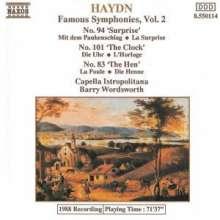 Joseph Haydn (1732-1809): Symphonien Nr.83,94,101, CD