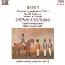 Joseph Haydn (1732-1809): Symphonien Nr.82,96,100, CD