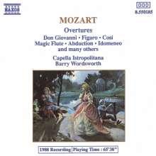 Wolfgang Amadeus Mozart (1756-1791): Ouvertüren, CD