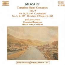 Wolfgang Amadeus Mozart (1756-1791): Klavierkonzerte Nr.5 & 26, CD