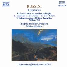 Gioacchino Rossini (1792-1868): Ouvertüren, CD