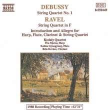 Claude Debussy (1862-1918): Streichquartett g-moll, CD