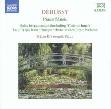 "Claude Debussy (1862-1918): Suite bergamasque (incl.""Clair de Lune""), CD"