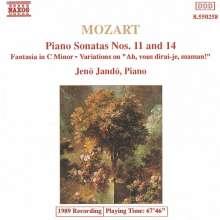 Wolfgang Amadeus Mozart (1756-1791): Klaviersonaten Nr.11 & 14, CD