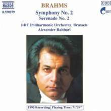 Johannes Brahms (1833-1897): Serenade Nr.2, CD