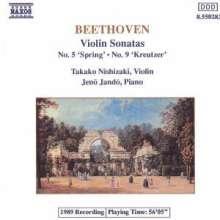 Ludwig van Beethoven (1770-1827): Violinsonaten Nr.5 & 9, CD