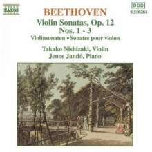 Ludwig van Beethoven (1770-1827): Violinsonaten Nr.1-3, CD