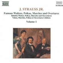 Johann Strauss II (1825-1899): Walzer,Polkas,Ouvertüren, CD