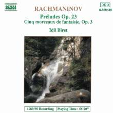 Sergej Rachmaninoff (1873-1943): Preludes Vol.1, CD