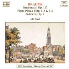 Johannes Brahms (1833-1897): Klavierstücke opp.117-119, CD