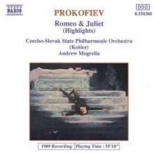 Serge Prokofieff (1891-1953): Romeo & Julia-Ballettmusik op.64a (Ausz.), CD