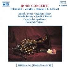 Konzerte für 2-4 Hörner, CD