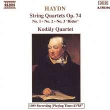 Joseph Haydn (1732-1809): Streichquartette Nr.72-74 (op.74 Nr.1-3), CD
