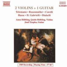 Musik für 2 Violinen & Gitarre Vol.1, CD