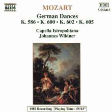 Wolfgang Amadeus Mozart (1756-1791): 25 Deutsche Tänze, CD