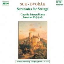 Josef Suk (1874-1935): Serenade für Streicher op.6, CD