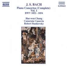 Johann Sebastian Bach (1685-1750): Klavierkonzerte BWV 1052-1054, CD