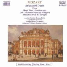 Wolfgang Amadeus Mozart (1756-1791): Arien & Duette, CD