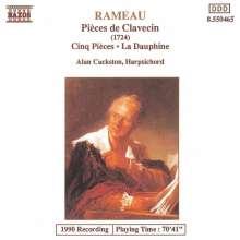 Jean Philippe Rameau (1683-1764): Pieces de Clavecin II Nr.1-19 (1724), CD