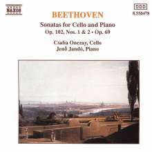 Ludwig van Beethoven (1770-1827): Cellosonaten Nr.3-5 (op.69 & op.102 Nr.1 & 2), CD