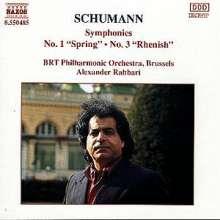 Robert Schumann (1810-1856): Symphonien Nr.1 & 3, CD