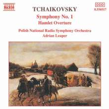"Peter Iljitsch Tschaikowsky (1840-1893): Symphonie Nr.1 ""Winterträume"", CD"