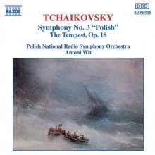 Peter Iljitsch Tschaikowsky (1840-1893): Symphonie Nr.3, CD