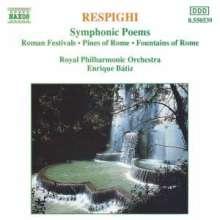 Ottorino Respighi (1879-1936): Fontane di Roma, CD