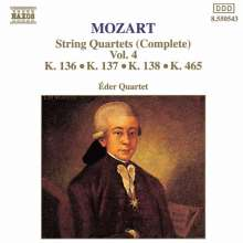 Wolfgang Amadeus Mozart (1756-1791): Streichquartett Nr.19, CD