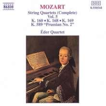 Wolfgang Amadeus Mozart (1756-1791): Streichquartette Nr.6,8,9,22, CD
