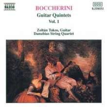 Luigi Boccherini (1743-1805): Gitarrenquintette Nr.1-3 (G.445-447), CD