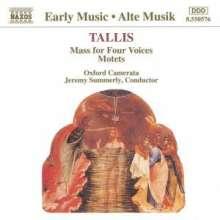 Thomas Tallis (1505-1585): Mass for Four Voices, CD