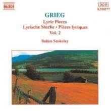 Edvard Grieg (1843-1907): 23 Lyrische Stücke, CD