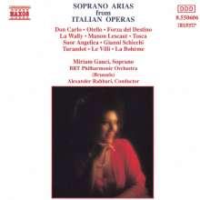 Miriam Gauci - Italienische Opernarien, CD