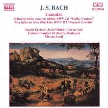 Johann Sebastian Bach (1685-1750): Kantaten BWV 211 & 212, CD