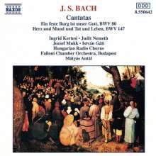 Johann Sebastian Bach (1685-1750): Kantaten BWV 80 & 147, CD